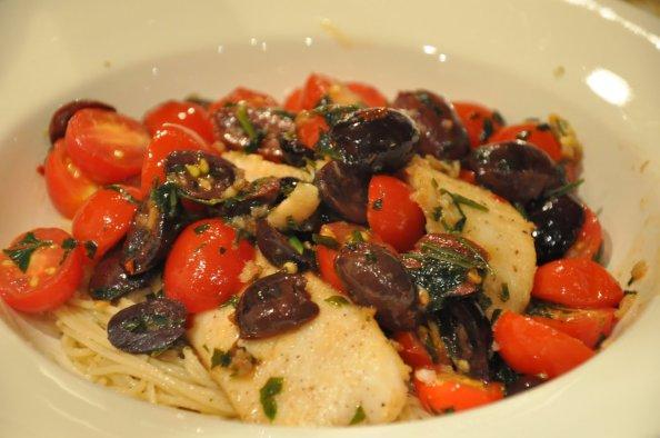 Fish Tomato Olive