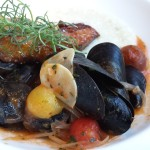 Waterbar mussels