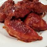 """Spicy """"fried"""" chicken"""