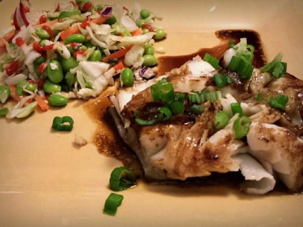 Ponzu fish