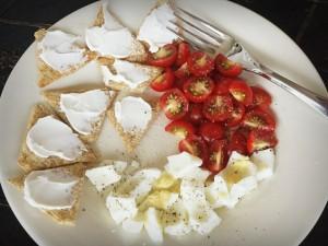 Breakfast tomatoes